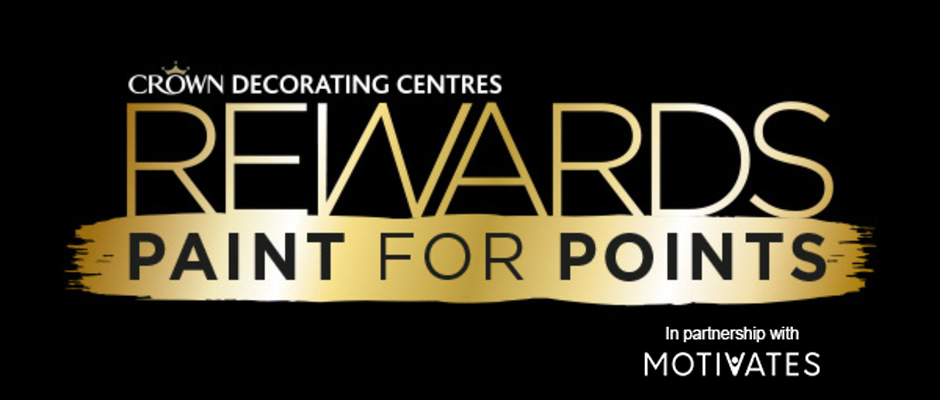 Crown Decorating Centres Rewards